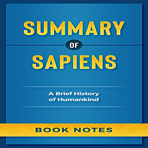 Summary of Sapiens: A Brief History of Humankind audiobook cover art