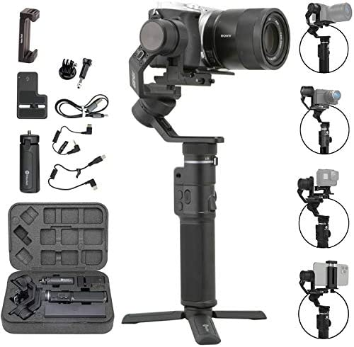 FeiyuTech G6 Max 3 Axis Handheld Gimbal Stabilizer G6 Plus Upgrade Ver for Mirrorless Camera product image