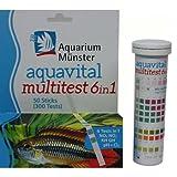 Aquarium Münster aquavital Multitest 6 in 1, 50 prueba Trip