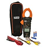 Clamp Meter, HVAC Meter with K-Type Thermocouple, Differential Temperature, True RMS Klein Tools CL450
