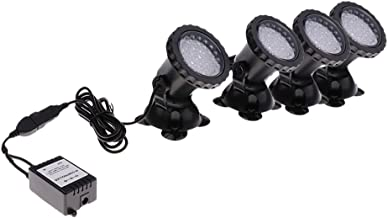 HOMYL LED Underwater Spotlight, with Remote Controller, Aquarium lamp led fish tank lights 8W Multi-color Changing Waterpr...