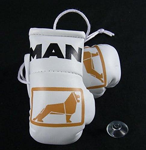 MAN-LKW Mini Boxhandschuhe für Lastkraftwagen/Nutzfahrzeuge. Weiße Handschuhe