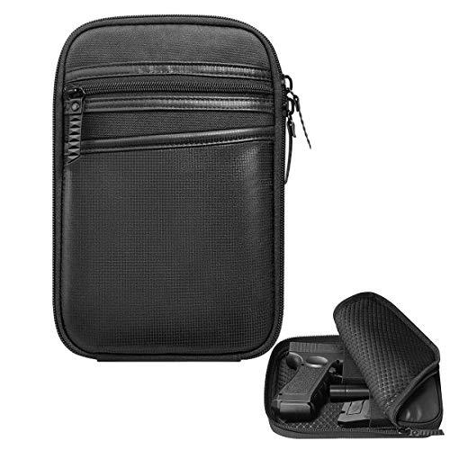 Tactical Concealed Pistol Pouch Carry Bag Portable Handgun...