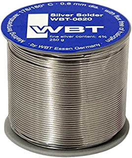 WBT 0820 Silberlot (Silberlötzinn) | Inhalt: 1 Rolle á 250 g/d=0,8 mm