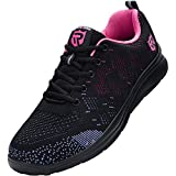 LARNMERN Zapatos Seguridad con Punta de Acero para Hombre Mujer Zapatillas Seguridad Femenino Ligeros S1P 35-42 (38 Purple)