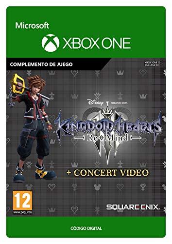 KINGDOM HEARTS III:  Re Mind + Concert Video (EMEA) | Xbox One - Código de descarga