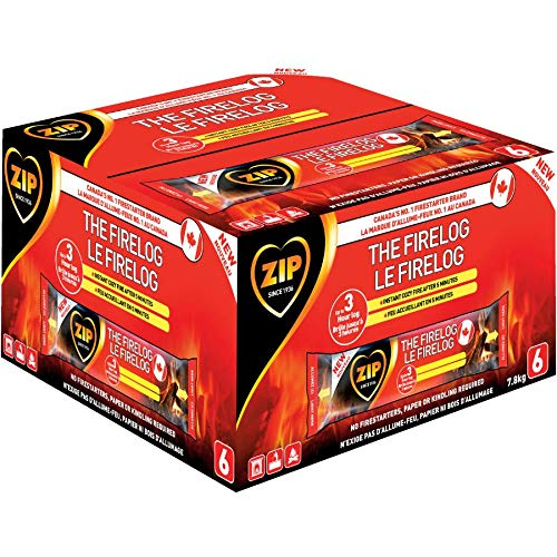 Review Of 6 Pack 3 Hour Fireplace Logs