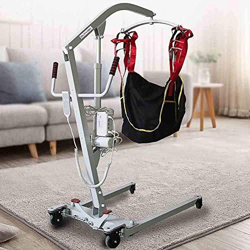 51CovVdNx5L - TINWG Transferencia eléctrica portátil Equipo de Elevación Paciente, for Ancianos, discapacitados, no Enteros Parálisis Paciente utilice si el Cable de alimentación de 3 m 523
