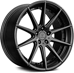 ✔️【BEST-IN-CLASS CONSTRUCTION】Featuring a heavy-duty, one-piece cast aluminum construction, all Verde Wheels offer superior durability and performance to withstand harsh conditions on the road. ✔️【ADVANCED ENGINEERING】Delivers exceptional performance...