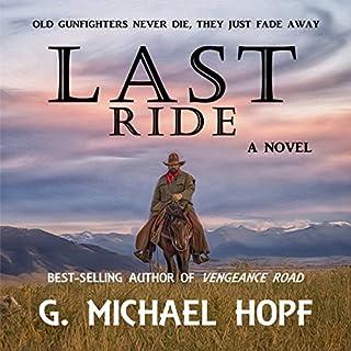 Last Ride audiobook cover art