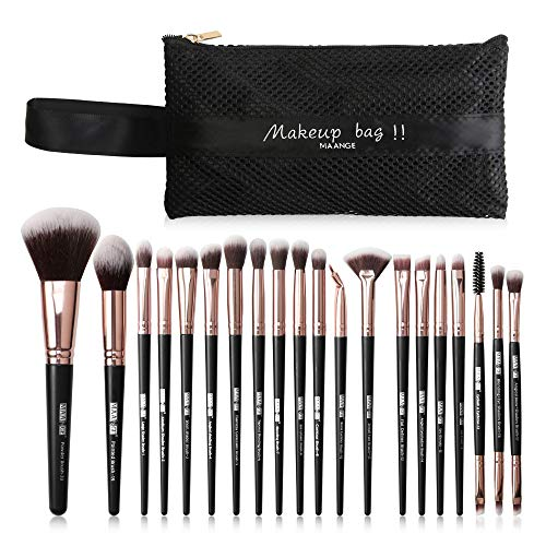 mreechan Make up Pinsel,make up Pinsel Set 20 Stück Pinselset Kosmetikpinsel Schminkpinsel Set...