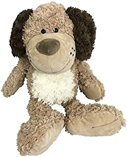 Stuffed Animal Dog Plush Toy | Soft Cute Brown Puppy Dog | Softest, Cutest Stuffed Dog Adorable For Dog Themed Bedroom And Sure To Become Your Kids Best Friend