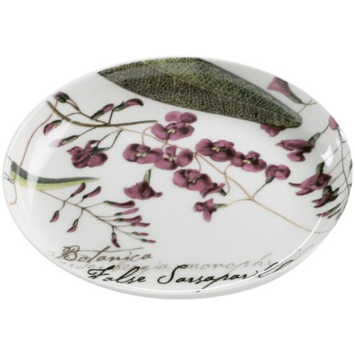 Maxwell & Williams S692123 Botanic Untersetzer, Floral Sarsaparille, 10 cm, in Geschenkbox, Porzellan