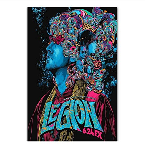 XuFan Legion Season 3 TV Series Show Movie Painting Art Poster Print Canvas Wall Art Decoración para el hogar Picture Wall Print-50x70cm Sin Marco