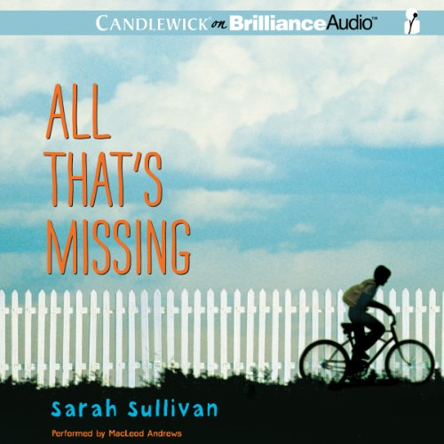 All That's Missing audiobook cover art