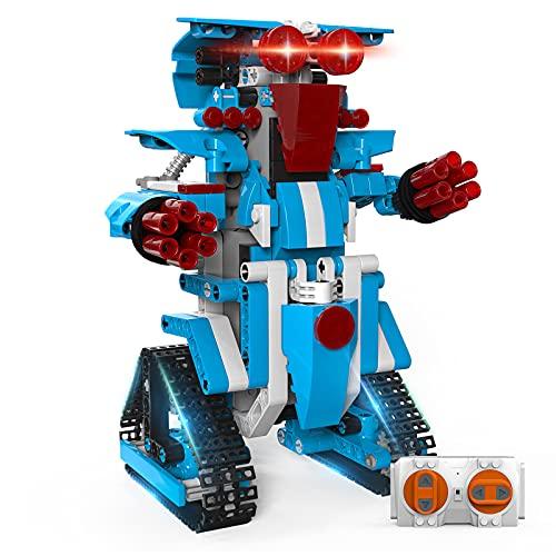 Spielzeug 6 7 8 9 10 11 12 Jahre Jungen und Mädchen, Henoda Stem Ferngesteuertes Roboter Konstruktionsspielzeug Pädagogisches Elektronik Kinder Spielzeug, Geschenke für 6-15 Jährige Jungen Mädchen
