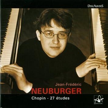 Chopin: 27 études, Jean Frédéric Neuburger