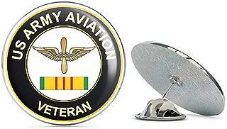 US Army Aviation Corps Vietnam Veteran Metal 0.75