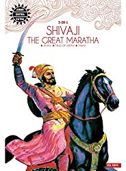 Shivaji the Great Maratha: 3 in 1 (Amar Chitra Katha)