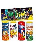 Horror-Shop Fun Bombs 4er Set Jugendfreies Tischfeuerwerk