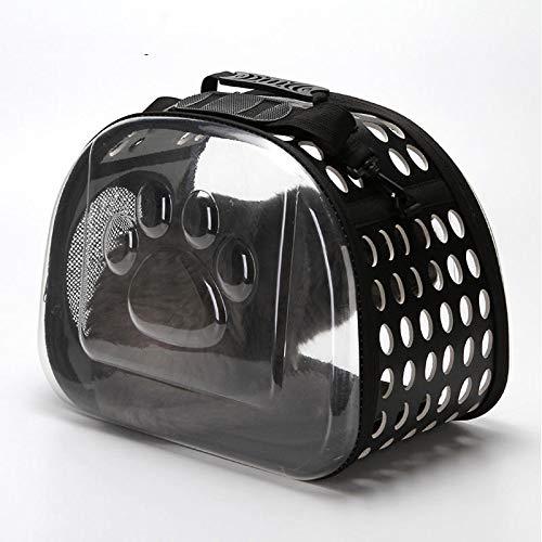 FEIYI Universal-Tragetasche für Katzen und Welpen, wasserdicht, für Angeln und Jagen, Schwarz