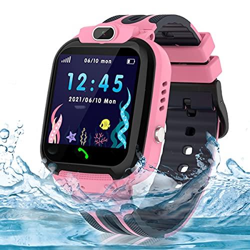 Smart Watch for Kids Girls Boys, IP67 Waterproof Kids Smart Watch with...
