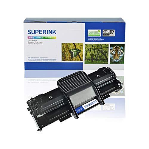 SuperInk Toner Cartridge Replacement Compatible for Samsung ML2010 to use with ML-2010 ML-2010D3 ML-2010P ML-2010R ML-2010PR Printer (Black, 1-Pack)