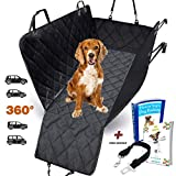 AMZPET Dog Car Seat Cover for Dogs, Waterproof with Door Protection, Durable Nonslip