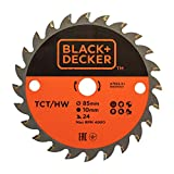 BLACK+DECKER A7525-XJ - Disco para mini sierra circular...