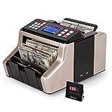 Desktop denaro banco cassa Bill contatore Rilevamento automatico contraffazione con UV/MG/IR/MT Funzione Bill che conta macchina w/display esterno
