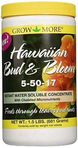 Grow More 7505 Hawaiian Bud and Bloom 5-50-17 Fertilizer,...