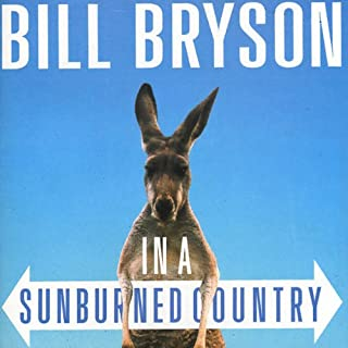 In a Sunburned Country audiobook cover art
