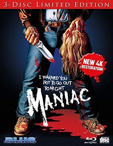 Maniac (1980) [Blu-ray + Blu-ray + CD]