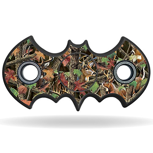 MightySkins Skin Compatible with Fidget Hand Tri-Spinner – Buck Camo | Protective, Durable, and Unique Vinyl Decal wrap Cover | Easy to Apply, Remove, and Change Styles | Made in The USA