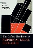 The Oxford Handbook of Empirical Legal Research (Oxford Handbooks) by Peter Cane Herbert Kritzer(2012-07-05)