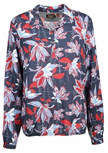 soquesto Damen Bluse Größe 38 EU Blau (blau)