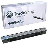 Hochleistungs Li-Ion Akku, 14,4V/14,8V/4400mAh für Asus F450LB F450LC F450V F450VB F450VC F450VE F452C F452CA F452E F452EA F452EP F452V F452VP F550 F550C F550CA F550CC F550E F550EA F550L F550LA