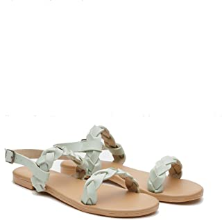 STREETSTYLESTORE Women's Brown Fashion Sandals