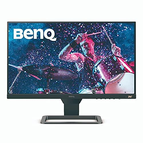 BenQ EW2480 - Monitor de 23.8' FullHD (1920x1080, 5ms, 75Hz, 3x HDMI, IPS, HDRi, FreeSync, Altavoces, Eye-care, Sensor Brillo Inteligente, Flicker-free, antireflejos, sin marco, VESA) - Gris