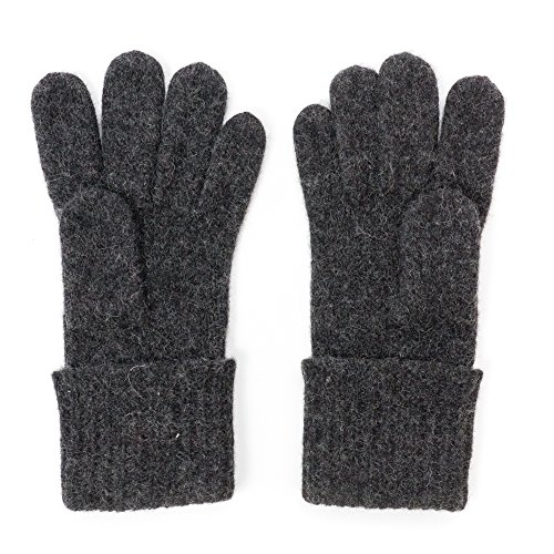 Dachstein Woolwear Wool Gloves, Size 8.5, Black