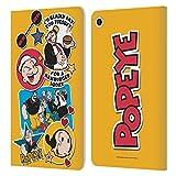 Head Case Designs sous Licence Officielle Popeye Personnages Collage Coque en Cuir à Portefeuille...