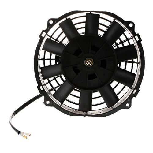 Sharplace Ventilateur de Refroidissement de Radiateur Électrique 80W 12V 8 '' de Voiture
