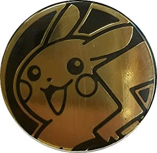 Pikachu Coin from the Pokemon Trading Card Game (Large Size) - Gold
