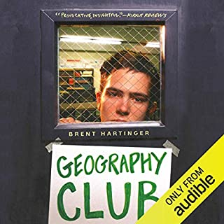 Geography Club audiobook cover art