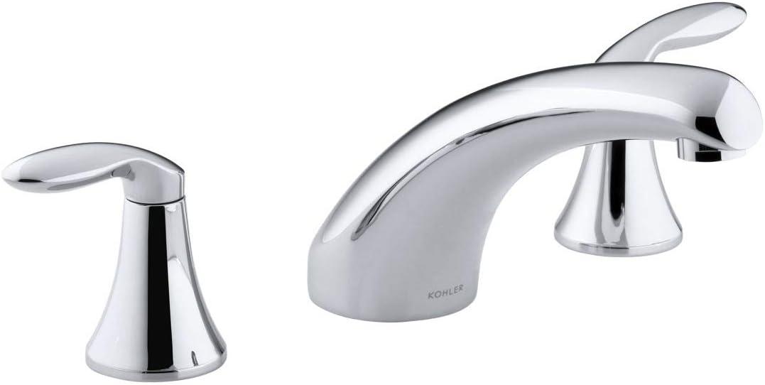 Kohler K-P15290-4-CP Coralais San Antonio Mall Deck-Mount T High-Flow Financial sales sale Bath Faucet