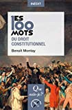 Les 100 mots du droit constitutionnel