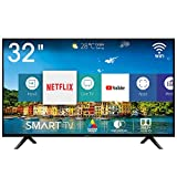 Hisense H32BE5500 Smart TV LED HD 32', USB Media Player, Tuner DVB-T2/S2 HEVC Main10 [Esclusiva...