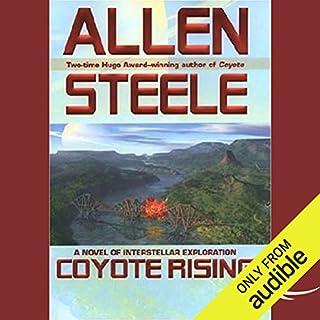 Coyote Rising audiobook cover art