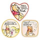 Disney Christopher Robin's Winnie The Pooh Trinket Tray Gift Set, 3 Piece Jewelry Dish Ring Holder