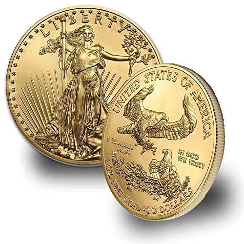 1986 - Present (Random Year) 1oz American Gold Eagle $50 Brilliant Uncirculated